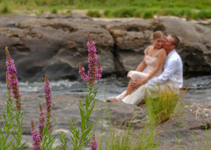 umpqua river wedding