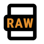 icon for RAW photos